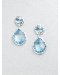 Ippolita | Metallic Sterling Silver Snowman Drop Earrings | Lyst