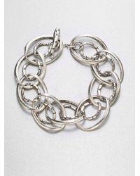 John Hardy - Metallic Sterling Silver Link Bracelet - Lyst