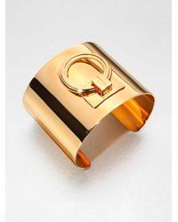 Tory Burch - Metallic Door Knocker Cuff Bracelet - Lyst