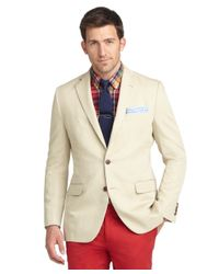 Brooks Brothers - Brown Fitzgerald Fit Cotton Linen Sport Coat for Men - Lyst