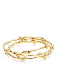 COACH | Metallic Leaf Bracelet Set | Lyst