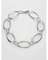 John Hardy - Metallic Sterling Silver Link Necklace - Lyst