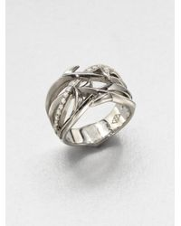 Stephen Webster | Metallic Diamond and Sterling Silver Ring | Lyst