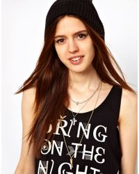 ASOS - Multicolor Pack Of Three Eclectic Necklaces - Lyst