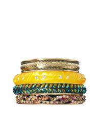 ASOS - Multicolor Summer Nights Bracelet Pack - Lyst