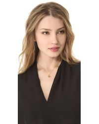 Jennifer Zeuner - Metallic Mattea Double Heart Necklace - Lyst