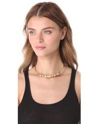 Madewell - Metallic Geo Collar Necklace - Lyst