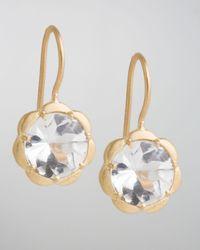 Jamie Wolf | Metallic Scalloped White Topaz Drop Earrings | Lyst