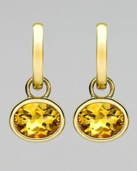 Kiki McDonough - Yellow 18k Gold Eternal Citrine Drop Earrings - Lyst