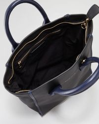 See By Chloé - Black April Calfskin Zipped Tote Bag - Lyst