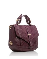 Tory Burch Purple Crossbody Pouch