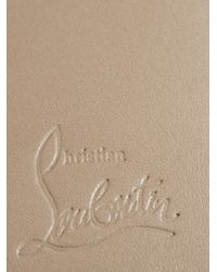 Christian Louboutin - Natural Paros Spiked Wallet - Lyst