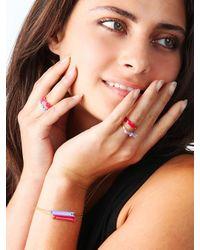 BaubleBar - Brandy Pham Pink Arrow Ring - Lyst