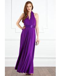 Coast | Purple Goddess Maxi Dress | Lyst