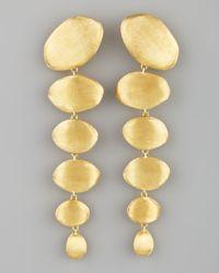 Marco Bicego - Metallic Confetti Oro Gold Drop Earrings - Lyst