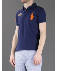 Polo Ralph Lauren Blue Polo Shirt for men