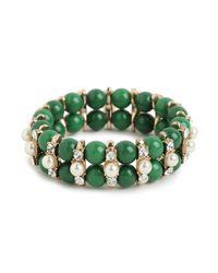 BaubleBar | Green Kempner Bracelet | Lyst