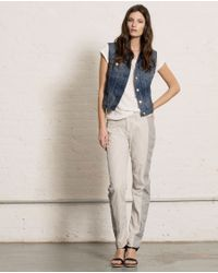 Rag & Bone - Blue Burney Vest  - Lyst