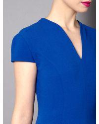 Pied a Terre | Blue Cap Sleeve Shift Dress | Lyst