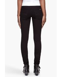 Nudie Jeans - Black Tight Long John Organic Cotton Jeans - Lyst