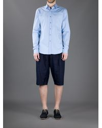 Gucci | Blue Classic Shirt for Men | Lyst