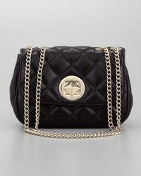 kate spade new york | Black Gold Coast Christy Shoulder Bag | Lyst