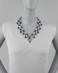 kate spade new york | Blue Moonlit Way Collar Necklace | Lyst