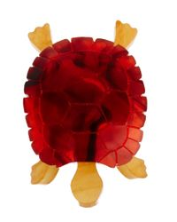 Tatty Devine - Red Tortoise Ring - Lyst