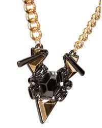 ASOS | Multicolor Jewelled Shard Necklace | Lyst