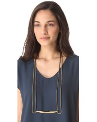 Citrine by the Stones - Metallic Varo Necklace - Lyst