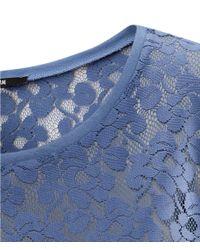 H&M | Blue Top | Lyst