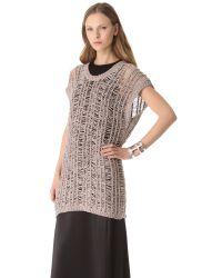 J Brand - Pink Greta Sweater - Lyst