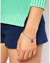Cath Kidston | Blue Scissors Charm Bracelet | Lyst