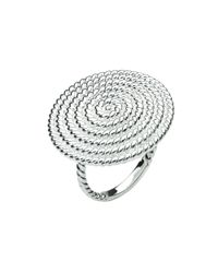 Kit Heath | Metallic Sterling Silver Ravel Ring | Lyst