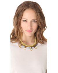 Lizzie Fortunato - Blue Sun Prairie Necklace - Lyst