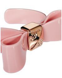 Ted Baker - Pink Origami Bow Cuff - Lyst