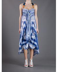 High   Blue Starlit Dress   Lyst