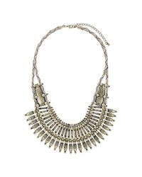 TOPSHOP | Natural Absail Warrior Collar | Lyst