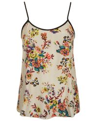 TOPSHOP | Multicolor Tapestry Print Cami | Lyst
