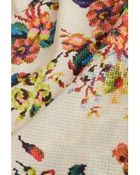 TOPSHOP - Multicolor Tapestry Print Cami - Lyst