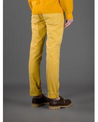 Acne | Yellow Vega Slim Fit Jean for Men | Lyst