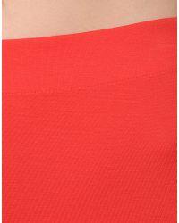 MM6 by Maison Martin Margiela   Red Leggings   Lyst