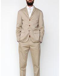 Apolis | Natural Standard Issue Civilian Blazer in Khaki for Men | Lyst