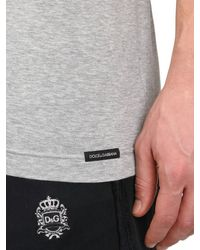 Dolce & Gabbana | Gray Mike Tyson Cotton Jersey T-Shirt for Men | Lyst