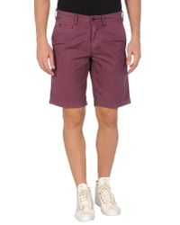 Jaggy | Red Bermuda Shorts for Men | Lyst