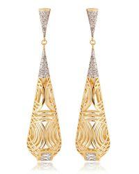 Lara Bohinc | Metallic Tatjana Drop Earrings | Lyst