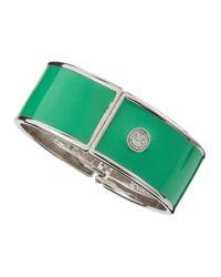 R.j. Graziano - Green Enamel Bangle - Lyst