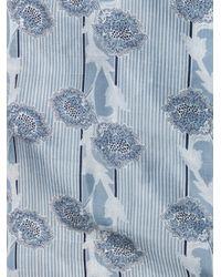 Boy by Band of Outsiders | Blue Japanese Flowerprint Dress | Lyst