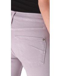 James Jeans - Purple Twiggy Faux Pocket Legging Jeans - Lyst