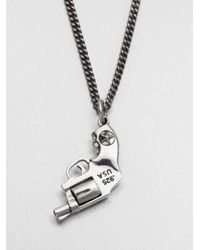 King Baby Studio | Metallic Revolver Pendant Necklace | Lyst